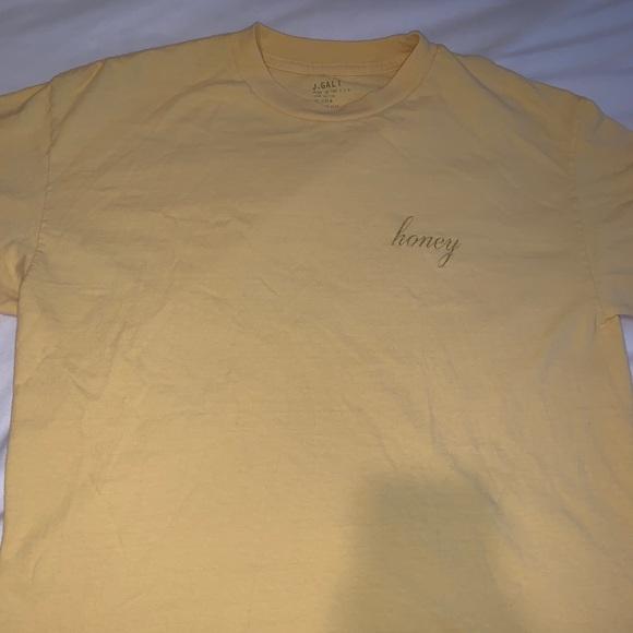 Brandy Melville Tops - brandy melville (john galt) honey shirt